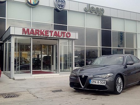 ALFA ROMEO GIULIA 2.2 JTDM 180KS AT8 SUPER