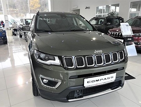 JEEP COMPASS 2.0MJTD  170KS ATX 4X4 LIMITED